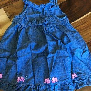 Gymboree dress 12-18 months chambray